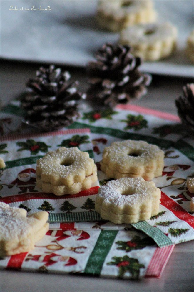 bredeles, biscuits secs