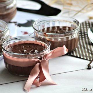 Crèmes au chocolat,cremes au chocolat sans oeufs,cremes au chocolat recettes