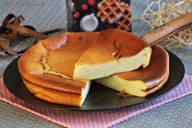 recette du gâteau au fromage blanc