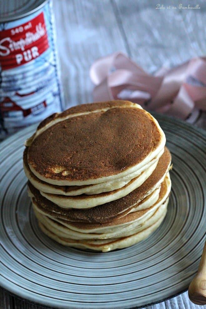 pancakes moelleux, recette de pancakes rapide