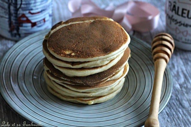 recette de pancakes du weekend