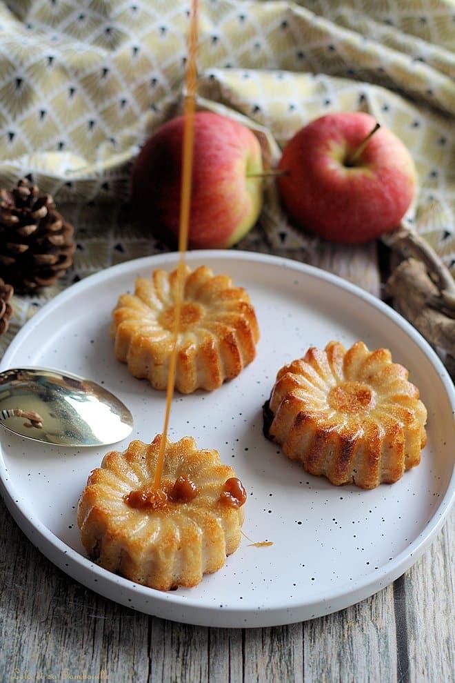 clafoutis aux pommes amandes sans beurre