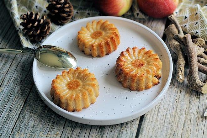 Clafoutis pommes amandes