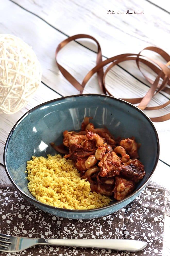 recette poulet épicé mijoteuse