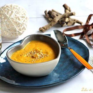 Merveilleuse soupe aux carottes