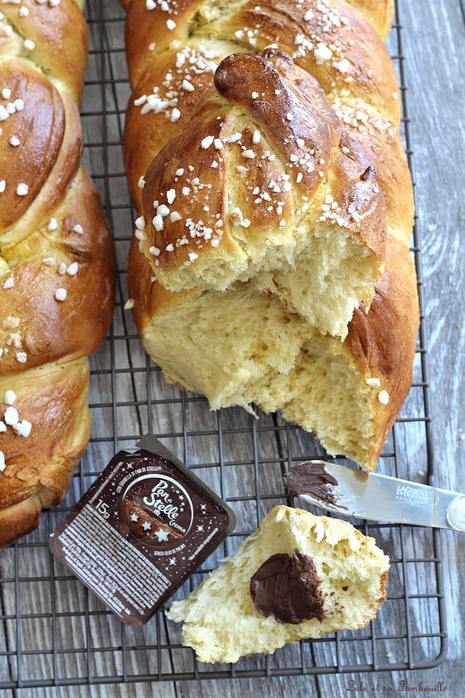 brioche au beurre, recette de brioche maison facile