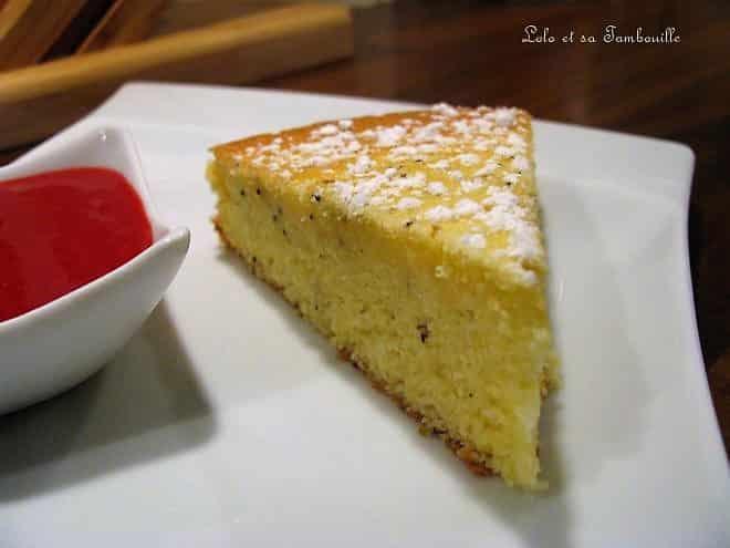 Gâteau aérien au citron