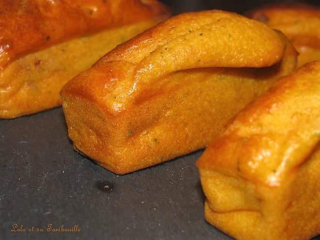Mini cakes moelleux au chorizo
