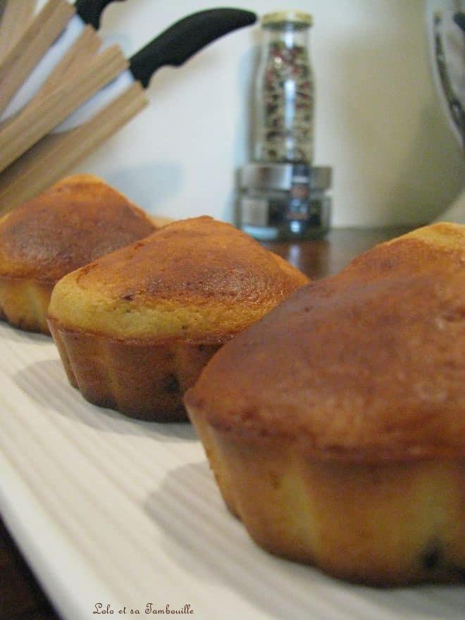 Muffins aux éclats de Milka aux cacahuètes & corn flakes