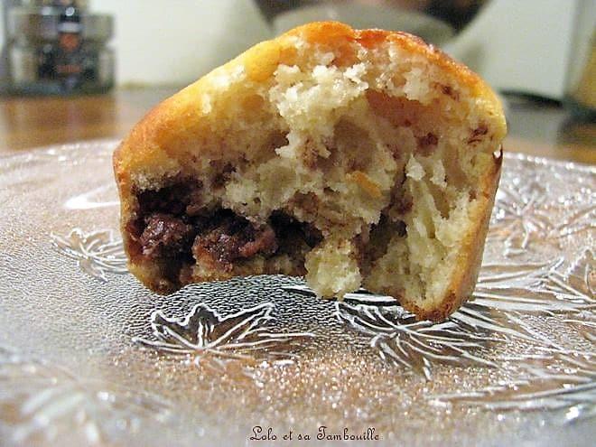Muffins aux éclats de Milka