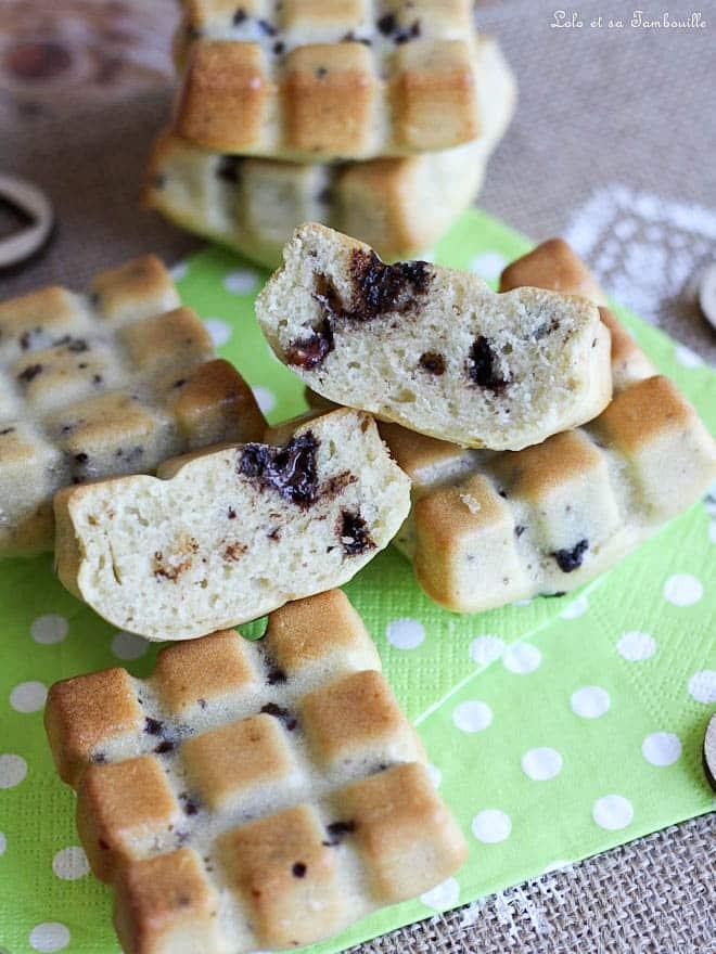 gâteaux moelleux, moule mini tablette