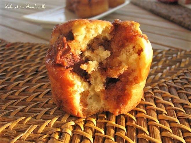 Muffins aux éclats de Mars, coeur de Kit-Kat