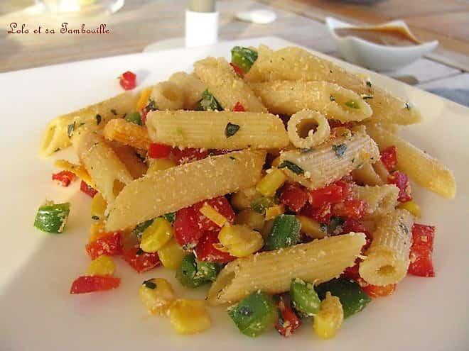Salade tricolore à la mimolette