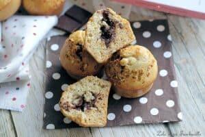 Muffins miel noisette