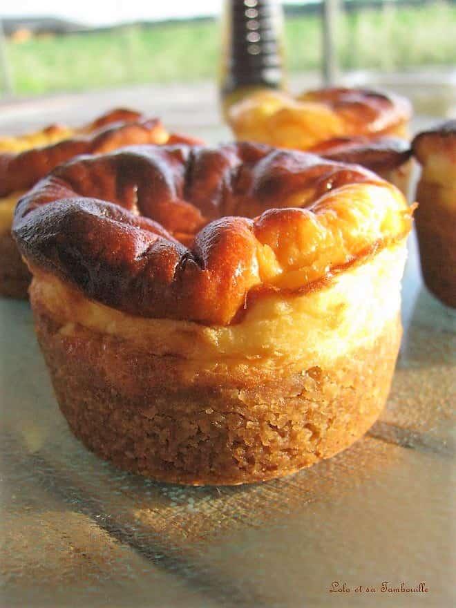 Petits cheesecakes à la pâte de spéculoos