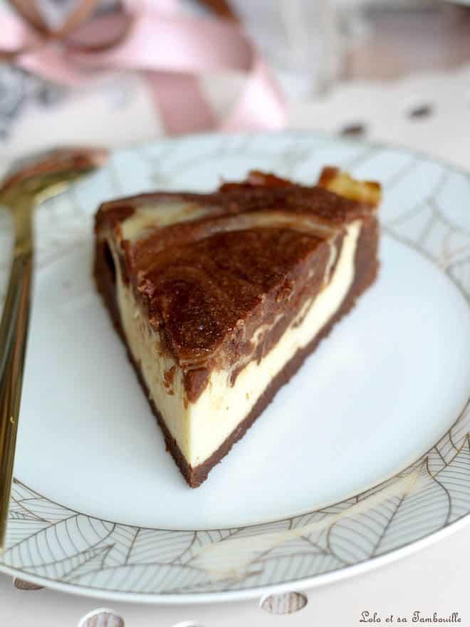 chocolat, recette brownie cheesecake