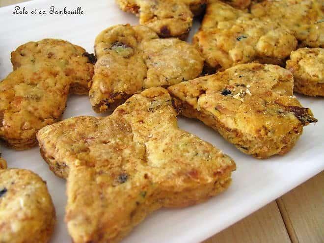 Biscuits aux tomates séchées