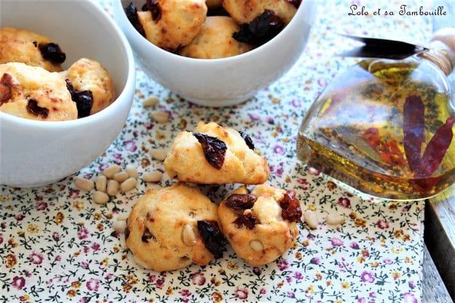 Cookies salés aux tomates