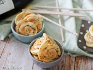 Feuilletés saumon fromage frais