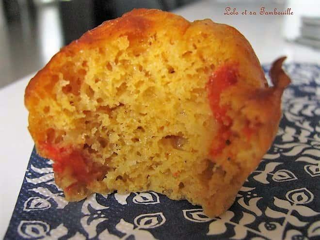 Muffins aux poivrons