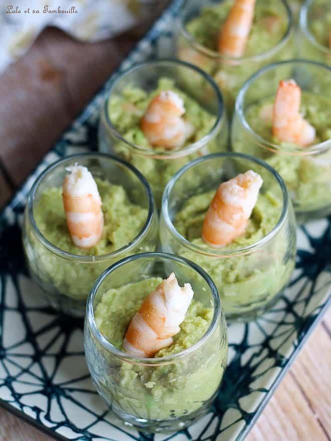 apéritif guacamole recette facile