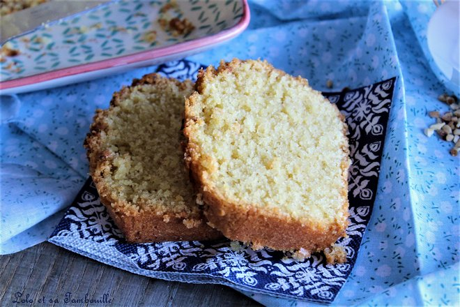 Cake du weekend {extra moelleux}