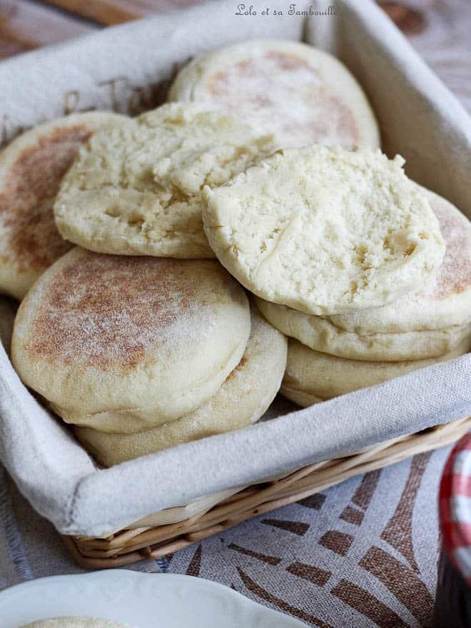 muffins moelleux. Recette de muffins anglais facile