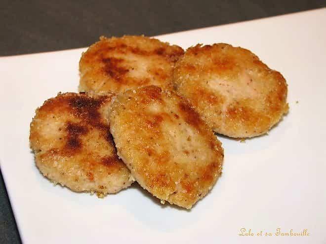 Croquettes de saumon à la coriandre