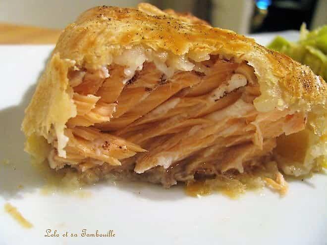 Filets de saumon en croûte aux épices de Noël