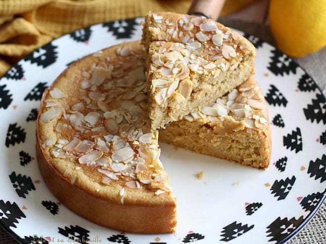 Gâteau citron,gâteau citron amande à tomber par terre,gâteau citron amande sans beurre,gâteau citron amande