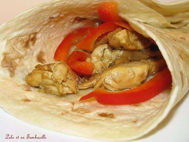 Wraps de poulet
