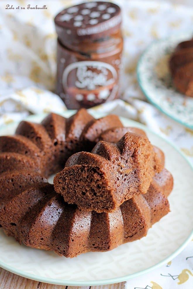 Cake moelleux à la pâte à tartiner