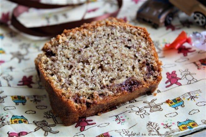 Cake aux noisettes & aux shokobons