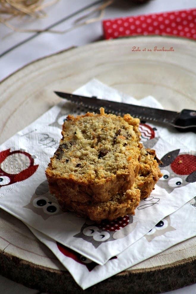 Carrot cake aux noix {version salée}