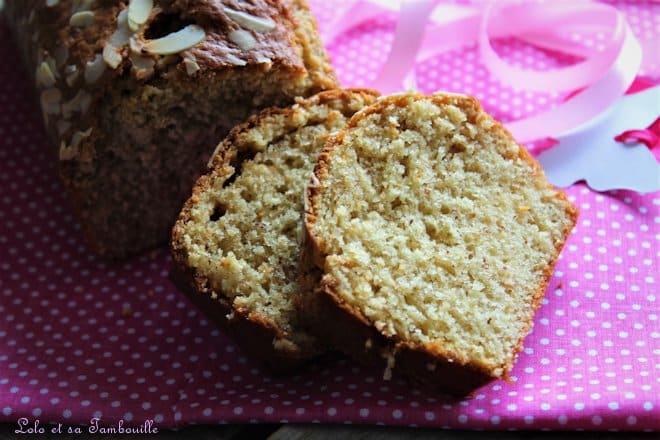 Cake au yaourt & au pralin