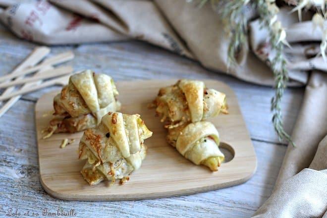 Mini croissants à la savora