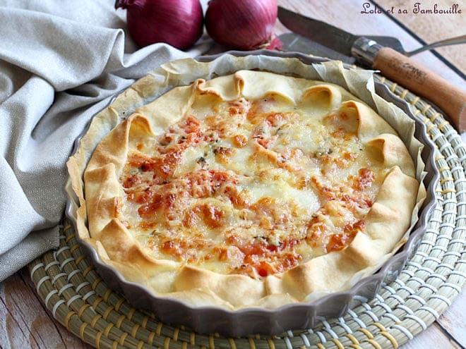 tarte à la tomate,tarte à la tomate recette,tarte à la tomate fraîche,tarte à la tomate mozza