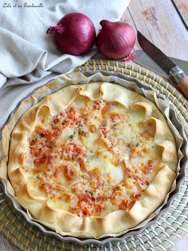 Tarte à la tomate, recette tarte tomate facile, tarte à la tomate fraîche