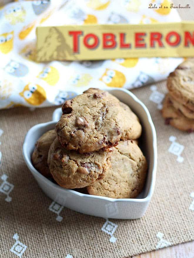 cookies avec éclats de toblérone