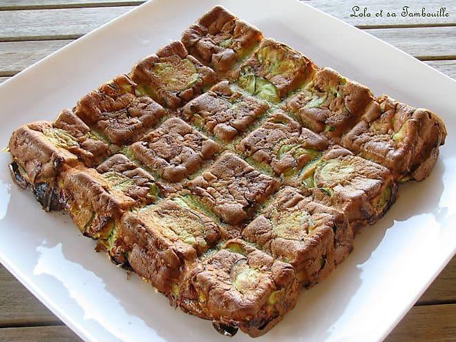 Gâteau de courgettes
