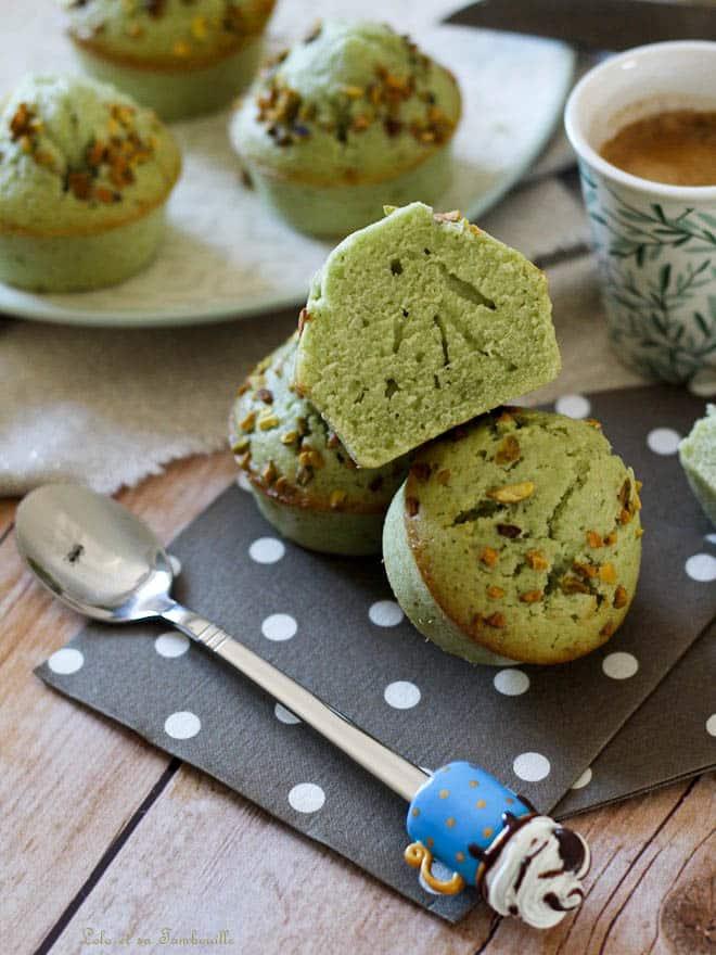 Muffins à la pistache