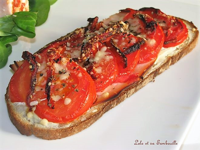 Tartines de tomates