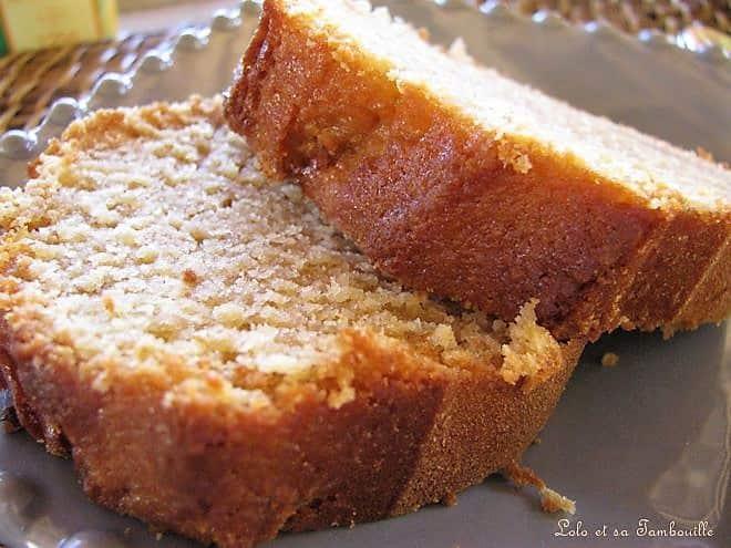 Cake aux caranougats