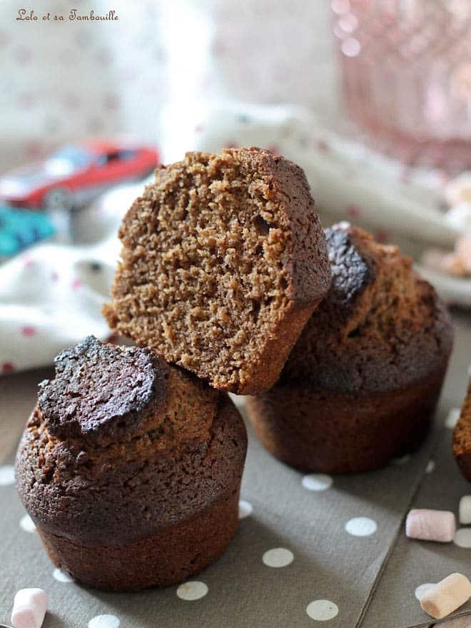 Muffins au chocolat au lait