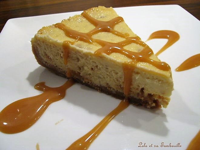 Cheesecake à la banane