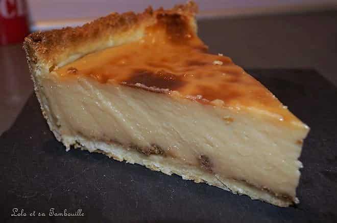 Flan pâtissier à la crème de caramel