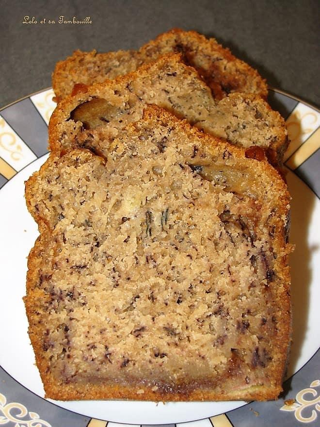 Cake à la banane & carambars