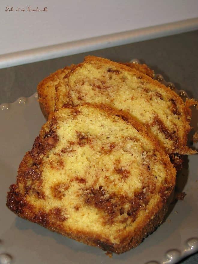 Cake aux milka snax aux daims