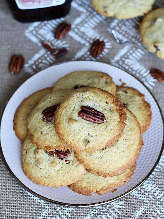 sirop d'érable, recette cookies