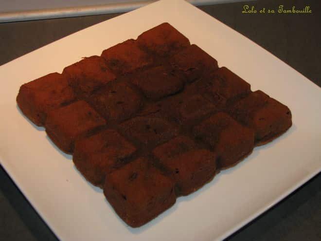 Brownie aux pistaches